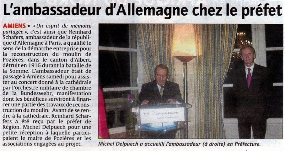 LE COURRIER PICARD 2010 MOULIN DE POZIERES